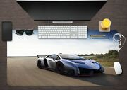 3d Cool Sports Car 146 Non-slip Office Desk Mouse Mat Large Keyboard Pad Game