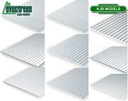 Evergreen Scale Models Styrene Textured Sheets Plastic Cladding Roof Clapboard