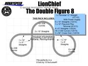 Lionel Fastrack Lionchief Double Figure 8 Twice Around Fast Track 5and039 X 10and039 New