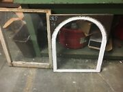 C1890 Gable End Window Frame Set - Arch Top Double Hung 24 W X 58 H X 1 3/8