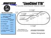 Lionel Fastrack Lionchief Ttb Track Pack Layout Train O Gauge Siding Bumpers New