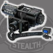 Kfi Atv Se35 Stealth Winch With Mount Kit Fits Yamaha Grizzly 700 07-15