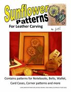 Sunflower Patterns For Leather Carving By Jim Linnell Leathercraft Designs