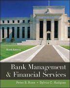 Bank Management And Financial Services 9th Edition By Peter S. Rose English Hard
