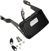 Cycle Visions Black Slick Signals License Plate Mount Kit For 13-15 Dyna Fxdb