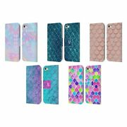 Head Case Mermaid Scales Leather Book Case And Wallpaper For Apple Ipod Touch Mp3