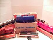 Lionel Post-war Set 1551w Jersey Central Nw-2 Switcher Set- Boxed- Rs1