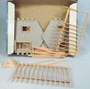 Plasticville House Under Construction Kit 1624 100 Vintage O Scale 1950s As Is 2