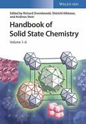 Handbook Of Solid State Chemistry English Hardcover Book Free Shipping