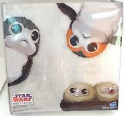 Sdcc 2018 Exclusive Hasbro Star Wars Forces Of Destiny Chewbacca And Porgs Set