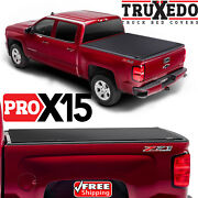 Truxedo Pro X15 Tonneau Roll Up Bed Cover For Chevy Silverado Gmc Sierra 6.5 Ft