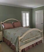 Ethan Allen French Country Style Off White