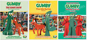 The Gumby Show 50and039s And 60and039s Tv Series Complete Volumes 1-3 1 2 3 New Dvd Bundle