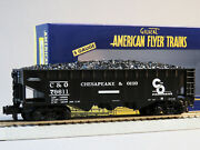 Lionel American Flyer Chesapeake And Ohio 3 Bay Hopper 79611 S Gauge 6-44058 New