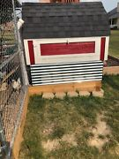 Chicken Coop With Covered Run