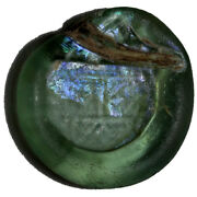 Rare And Intact Basiliscus And Marcus. 475-476 Ad Glass Weight
