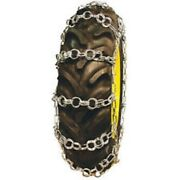 Double Ring Pattern 15.5-38 Tractor Tire Chains - Nw779