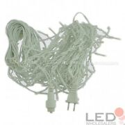 Linkable 16.4-ft 120-led Christmas Holiday Icicle Lights With White Wire