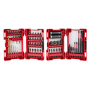 Milwaukee Impact Duty Drill And Drive Set 75-pc 48-32-4030 New