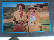 Wild Bill Hickok 1956 Tv Series 100 Piece Boxed Jigsaw Puzzle Complete - Vg