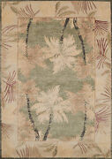 12x15 United Weavers Blue Floral Leaves Area Rug 1821-40041 - Aprx 12and039 6 X 15and039