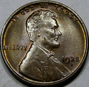 1925-d Lincoln Cent Superb Gem Bu Ms++rb... Tough Date Amazing Coin And So Nice