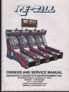 Ice-ball Owners And Service Manual Arcade Ski-ball Game Manual 090418dbe4