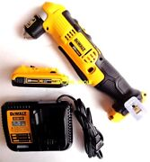 Dewalt Dcd740 20v Cordless 3/8 Angle Drill, 1 Dcb203 Compact Battery, Charger