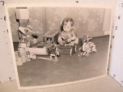 Fisher Price 1937 Disney Pluto Donald Daisy Duck Donkey Wood Holgate Toy Photo