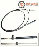 Peach Motor Parts Pm-897977a12 Throttle Shift Cable Remote Control 12 Ft Mercury