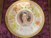 The Bradford Exchange Limited Edition Princess Diana England's Rose Plate