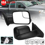 Passenger Right Side Tow Mirror Power Heated For 02-08 Ram 1500 03-09 2500 3500