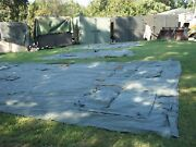 Military 16x16 Frame Tent Surplus Us Army ..no Frames Included Camping Hunting