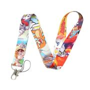 Tom And Jerry All Over Print Lanyard Id Holder Keychain