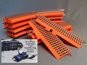 Lionel Orange Fastrack 40x70 Oval Lionchief Terminal Pep And Power Br Hot Wheels
