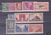 France Year Fully 1929 N° 253/262 11 Stamps New X Xx Ttb ,value