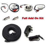 Waterproof High Gain Audio Microphone For Cctv Camera Dvr Sound Recording +cable