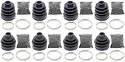 Complete Front And Rear Inner And Outer Cv Boot Repair Kit For Arctic Cat 350 Cr 201