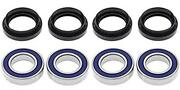 All Balls Complete Bearing Kit For Front Wheels Fit Yamaha Yfm660 Grizzly 2002
