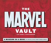 The Marvel Vault A Museum-in-a-book With Rare Co... By Peter Sanderson Hardback