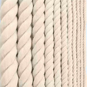 Golberg Premium 100 Natural Twisted Cotton Rope - Choose From Many Sizes