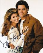 Lori Loughlin And John Stamos Signed Autographed Full House Photo