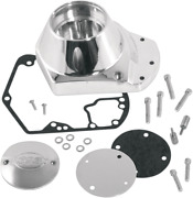 Sands Cycles Billet Cam Cover Kit 93-00 Harley Dyna Touring Softail Fxr Fxst Flhr