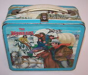 The Monroes Western Metal Lunch Box Used 1967