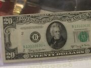 1950e 20 Federal Reserve Star Note Fr. 2064-b Gorgeous