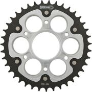 Supersprox Motorcycle Rear 520 Stealth Dual Sprocket 39t Silver Rst-737-39-slv