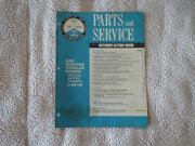 1967 Ford Parts And Service Marketing October Action Guide Dealer Only Manual