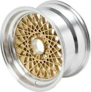 16 X 8 Gold Gta Style Alloy Wheel W/ 5 Backspacing And 16mm Offset