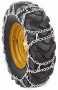 12.4x36 Duo Pattern Tractor Snow Tire Chains Size 12.4-36 - Duo232-1cr