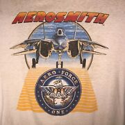 Aerosmith Aero Force One Done With Mirrors Xl 1986 Tour Concert T Shirt Vintage